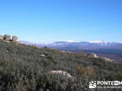 Senderismo Sierra de la Cabrera; senderismo en la sierra de madrid; senderismo en la comunidad de ma